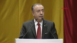 Galatasaray Başkanı Cengiz, Mali Genel Kurulda konuştu