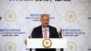 Başbakan Yıldırım, Nefes Kredisinin ikincisini İzmirde tanıttı
