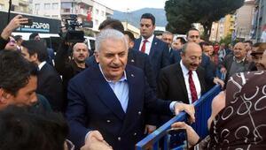 Başbakan Yıldırım Nefes Kredisinin ikincisini İzmirde tanıttı (6)
