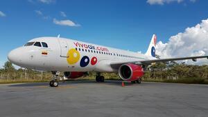 Kolombiyada uçak otoyola iniş yaptı