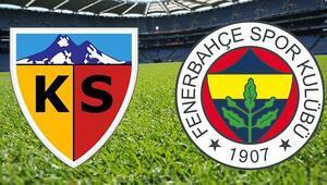 Fenerbahçe haftayı Kayseride kapatıyor Zorlu viraj...