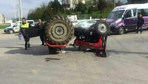 Sakaryada 2 traktör kazasında sürücüler öldü