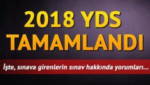 YDS sonuçları ne zaman açıklanacak 2018 YDS sınav yorumları