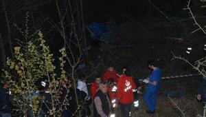 Karabükte cezaevi nakil aracı uçuruma yuvarlandı: 2 şehit, 13ü asker 15 yaralı (2)