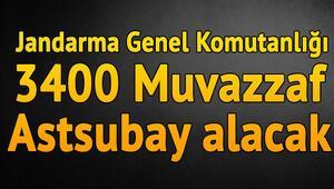 Astsubay alımı başvuru şartları neler Jandarma Genel Komutanlığı (JGM) astsubay alımı ilanı