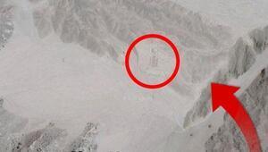 Google Mapste gördü peşine düştü Çölün ortasında öyle bir şey buldu ki...
