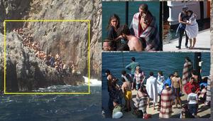 Fethiyede tekne battı... 71 üniversiteli kurtarıldı