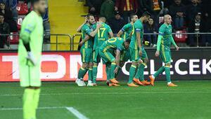 Fenerbahçeden Kayseride gol şov 5-0