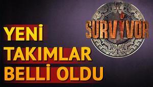 Survivor 2018in yeni takımları ve yarışmacıları | Survivorda kim hangi takıma gitti
