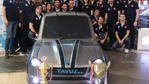 KTÜlü öğrenciler hibrit otomobil üretti