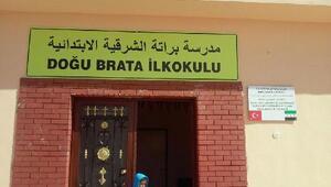 Düzcedeki okullardan toplanan bağışlarla El-Baba ilkokul