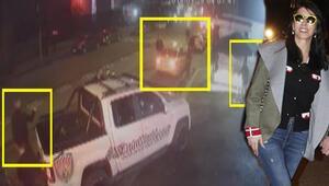 Hande Yener de ordaydı... Ortaköyde yaşanan dehşet kamerada