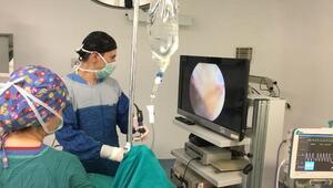 Bigadiç'te ilk defa sinüzit ameliyatı yapıldı