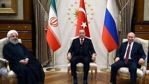 Beştepede Türkiye-Rusya-İran Üçlü Zirvesi (2)