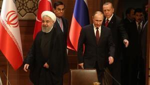 Beştepede Türkiye- Rusya- İran üçlü Suriye zirvesi - Yeniden