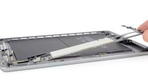 Appleın yeni iPadi paramparça oldu İçinden...