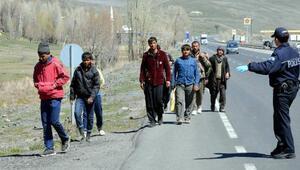Erzurum Emniyeti, kaçaklara dur dedi
