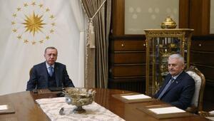 MİT Müsteşarı Hakan Fidan ve beraberindeki heyet Beştepede