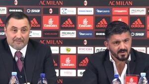 Milan Gattuso ile sözleşme yeniledi