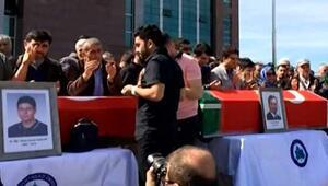 Üniversitede saldırı sonucu öldürülen 4 araştırma görevlisi için tören düzenlendi