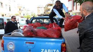 Antalyada küflenmiş midye dolma operasyonu