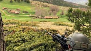 Tokatta jandarma ekipleri kırsalda terörist aradı