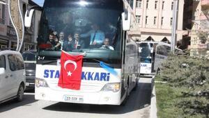 Hakkaride 5 yıl aradan sonra otobüsler tekrar hizmet verecek