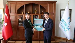 Şangay Altın Borsası Başkanı Jiao Jinpu Borsa İstanbul'u ziyaret etti