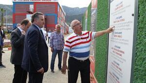 Gençlik ve Spor Bakanı Osman Aşkın Bak, Altınordu Tesislerini gezdi