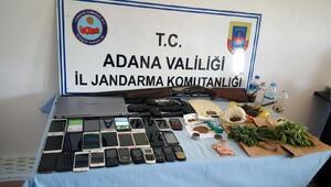 Jandarma Karataşta uyuşturucu çetesini çökertti