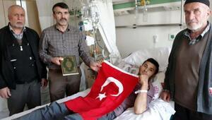 Güneydoğu Gazisine terör mağdurları derneğinden ziyaret