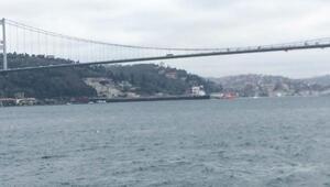 İstanbul Boğazında gemi yalıya çarptı- 1