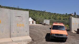 Yeni açılacak Zeytin Dalı Gümrük Kapısının yeri görüntülendi