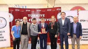 U23 Kadınlar Türkiye Güreş Şampiyonası sona erdi