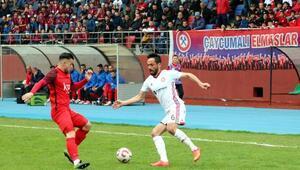 Zonguldak Kömürspor - Gümüşhanespor: 1-1