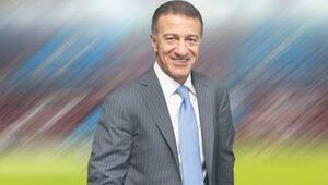 Trabzonsporun yeni başkanı Ahmet Ağaoğlu...