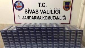 Sivasta jandarmadan kaçakçılık operasyonları: 10 gözaltı