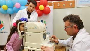 7 bin 225 öğrenci sağlık taramasından geçti