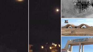 Son dakika... Suriyede askeri havaalanı vuruldu