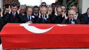 CHPli eski milletvekili Öner, törenle son yolculuğuna uğurlandı (2)