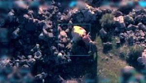 PKKlı teröristler silah ve patlayıcı yükledikleri hayvanlara böyle işkence yapmış