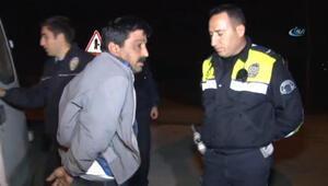Alkollü sürücü polisten kaçtı Yakalanınca Moralim bozuktu, görmedim dedi