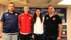 Bursa BŞB, Kadınlar CEV Challenge Kupasında 3üncü kez şampiyonluk için sahaya çıkıyor
