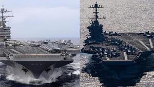 Son dakika... ABDden kritik hamle: Uçak gemileri yolda