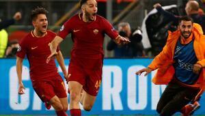 Cengiz Ünder Barçayı yaktı Roma, Devler Liginde yarı finalde...