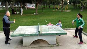 Manisada parklarda uzman antrenör dönemi