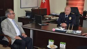 Başkan Özacar'dan, polis teşkilatına kutlama ziyareti