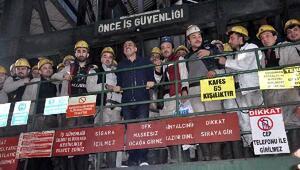 Haluk Levent, 1 Mayısı madencilerle kutlayacak