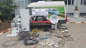8 hırsızlık olayına karışan 4 kişi tutuklandı