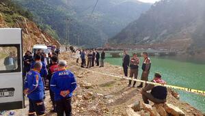 4 kişinin olduğu otomobil baraja uçtu ihbarı/ Ek fotoğraflar